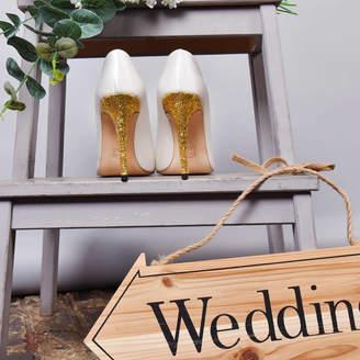 e48d0c2a3c1b Yull Mayfair White Satin Bridal Shoes