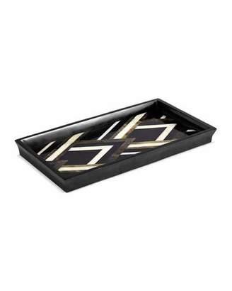 L'OBJET Deco Noir Small Tray