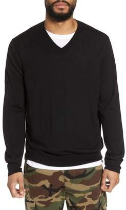 Vince Slim Fit Cashmere V-Neck Sweater