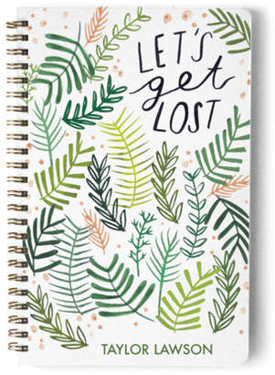 Minted Lets Get Lost In Plants Day Planner, Notebook, or Address Book