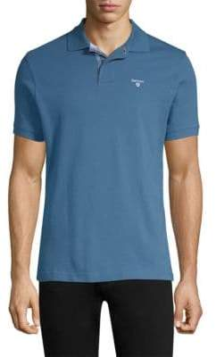 Barbour Bow Short-Sleeve Cotton Polo