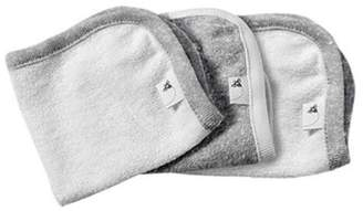 Burt's Bees Baby® 3-Pack Organic Cotton Washcloths in Grey $5.99 thestylecure.com