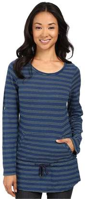 Royal Robbins Breeze Thru Stripe Cover Top Women's Long Sleeve Pullover