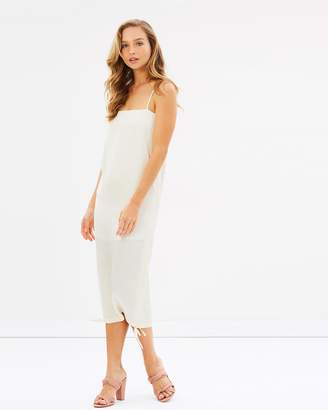 Shona Joy Solar Ruched Slip Dress