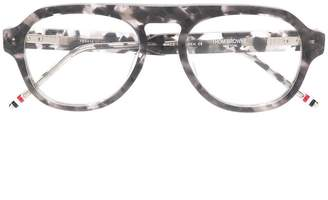 Thom Browne Eyewear GREY TORTOISE GLASSES
