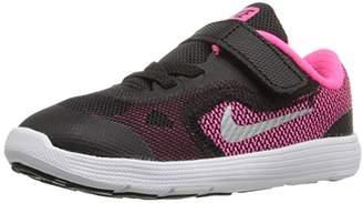 Nike Girls' Revolution 3 Running Shoe (TDV)