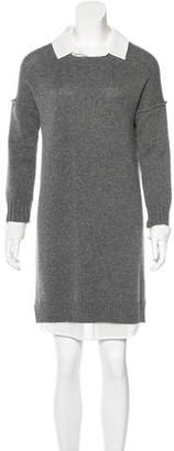Brochu Walker Wool Knee-Length Dress $65 thestylecure.com