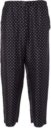 Alberto Biani Polka Dot Cropped Trousers
