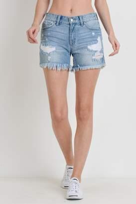 Just USA Destroyed Denim Shorts