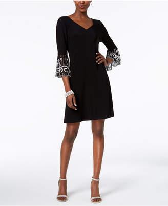 MSK Embellished Shift Dress