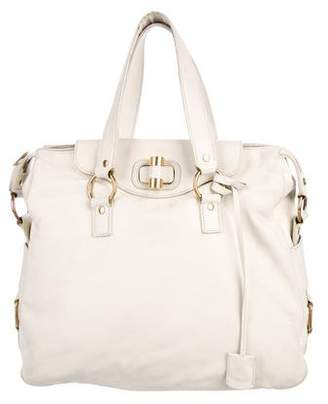 Saint Laurent Muse Leather Messenger Bag