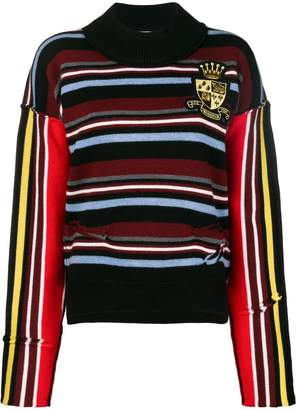 J.W.Anderson deconstructed stripe jumper