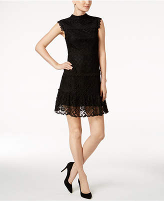 Julia Jordan Lace A-Line Dress