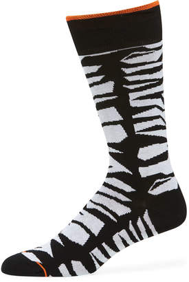 Bugatchi Men's Abstract Socks