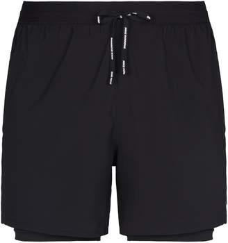 Nike Linen Hooded Shirt