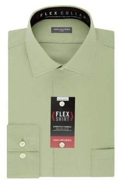 Van Heusen Regular Fit Flex Collar Dress Shirt