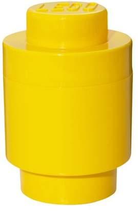 Lego Bright Yellow Round Storage Brick 1 Children's Toy Box