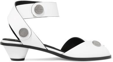 Stella McCartney - Faux Leather Sandals - White