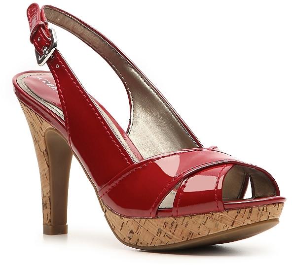 Audrey Brooke Tupelo Patent Sandal