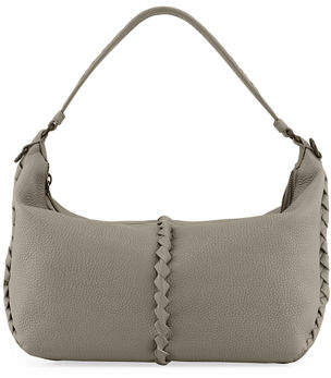 e4be66ca4182 Bottega Veneta Cervo Medium Leather Shoulder Hobo Bag