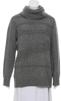 Diane von Furstenberg Turtleneck Textured Sweater