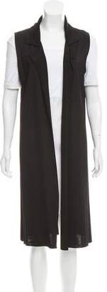 The Row Sleeveless Open Front Cardigan