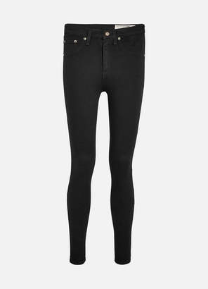 Rag & Bone High-rise Skinny Jeans - Black