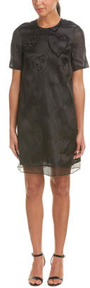 Escada Silk-Blend Shift Dress