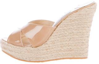 Jimmy ChooJimmy Choo Espadrille Wedge Sandals