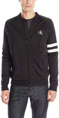 Calvin Klein Jeans Men's Full Zip Retro Track Jacket