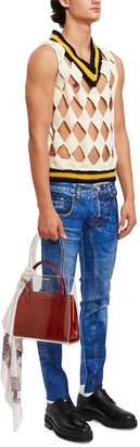 Stefan Cooke Simulation Blue Jeans Trouser