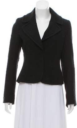 Theory Long Sleeve Wool Blazer
