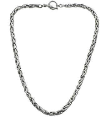 Chain necklace, 'Dragon Bone'