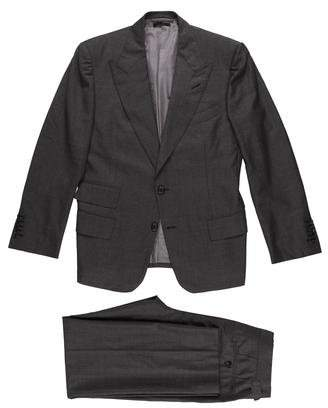 Tom Ford Wool Peak-Lapel Two-Piece Suit