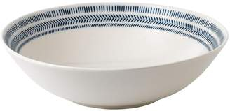 ED Ellen Degeneres Crafted By Royal Doulton Crafted By Royal Doulton Cobalt Blue Chevron Serving Bowl