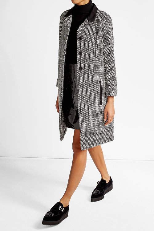 Carven Carven Tweed Coat