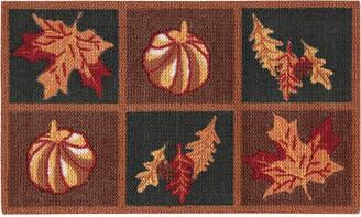 "Nourison Harvest Leaves 20"" x 30"" Accent Rug"