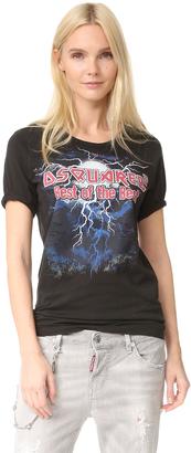 DSQUARED2 Vintage T-Shirt $270 thestylecure.com