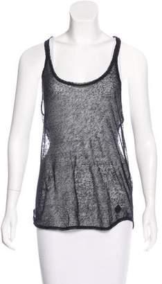 Sonia Rykiel Sonia by Knit Sleeveless Top