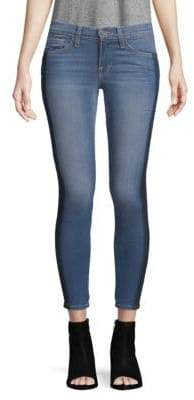 Two-Tone Skinny Jeans