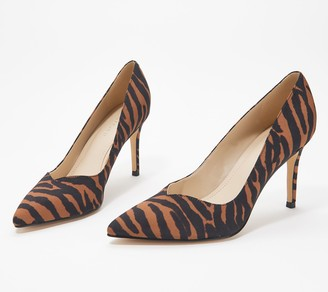 Marc Fisher Classic Pointed Toe Pumps - Dapple