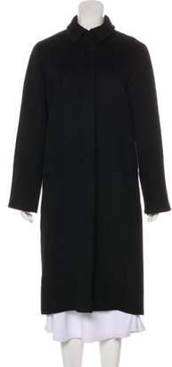Calvin Klein Collection Wool & Angora Coat