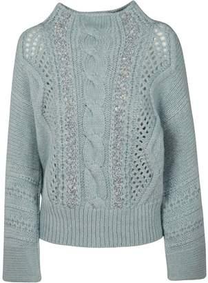 Ermanno Scervino Perforated Sweater