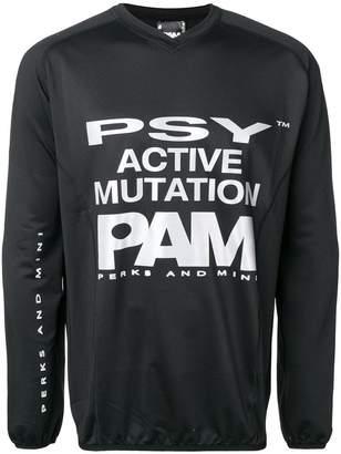 Perks And Mini Pam logo print T-shirt