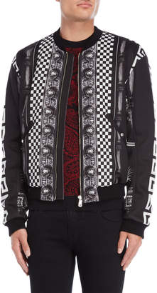 Versace Black & White Bomber Jacket