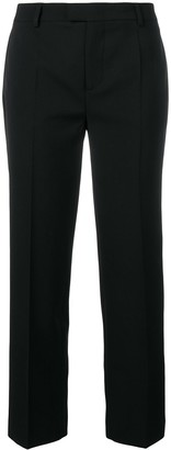 RED Valentino cropped pleated trousers