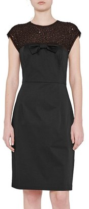 French Connection Hettie Sheath Dress $198 thestylecure.com
