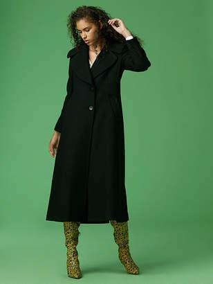 Diane von Furstenberg Classic Wool Coat