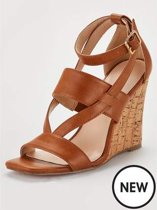 e7dacb52d4f Closed Toe Wedge With Ankle Strap - ShopStyle UK