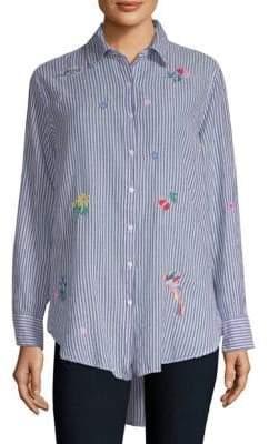 Sundry Oversized Button-Front Shirt